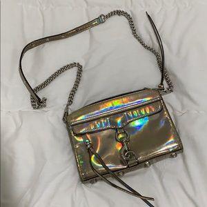 Rebecca Minkoff Metallic Silver Bag